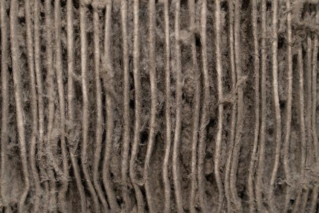 Primer plano sobre el polvo del aire acondicionado filtro de aire