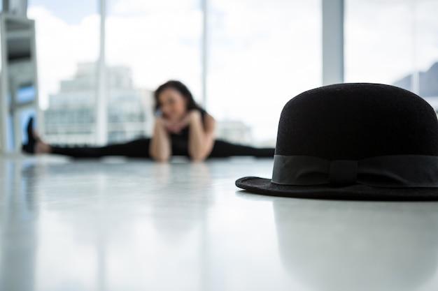 Primer plano, de, sombrero