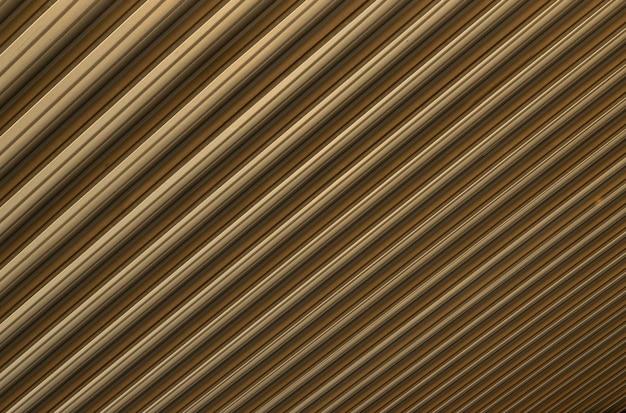 Primer plano de la superficie corrugada de color marrón amarillento que causa ilusión óptica