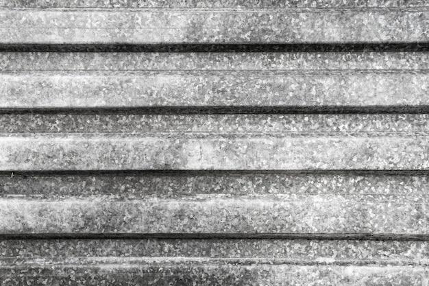 Primer plano de la superficie metálica gris