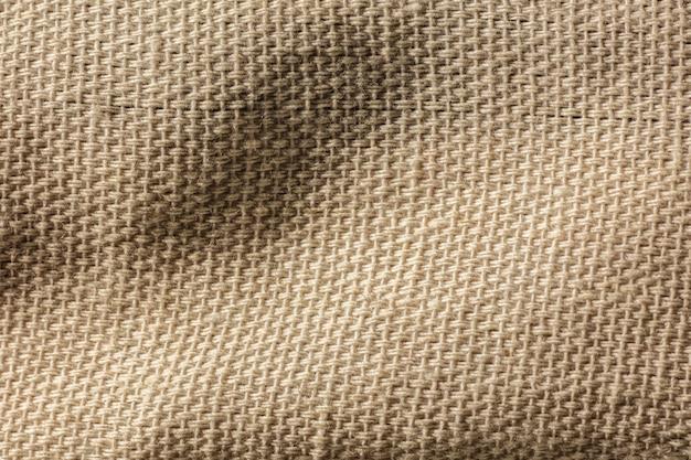 Primer plano de la superficie de la textura de la tela