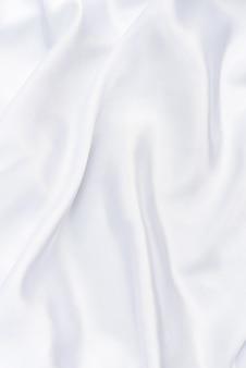 Primer plano de tela blanca smoot