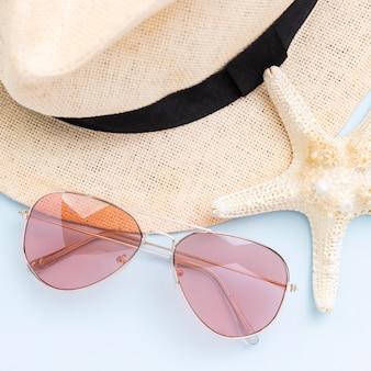 Primer plano vie del concepto de verano