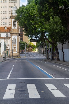 Primera avenida de la ciudad de rio de janeiro