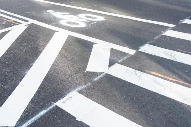 Primeros pasos de peatones
