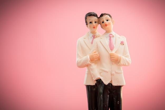 Primeros de la torta del novio gay