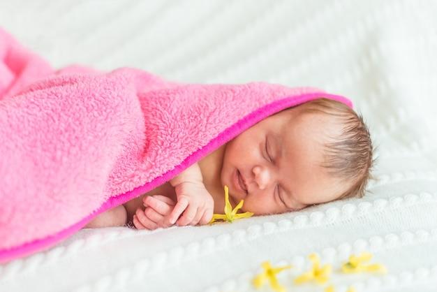Princesa bebé recién nacido