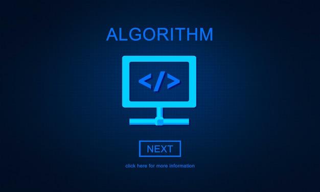 Principios del método de algoritmo concepto de programación de procesos