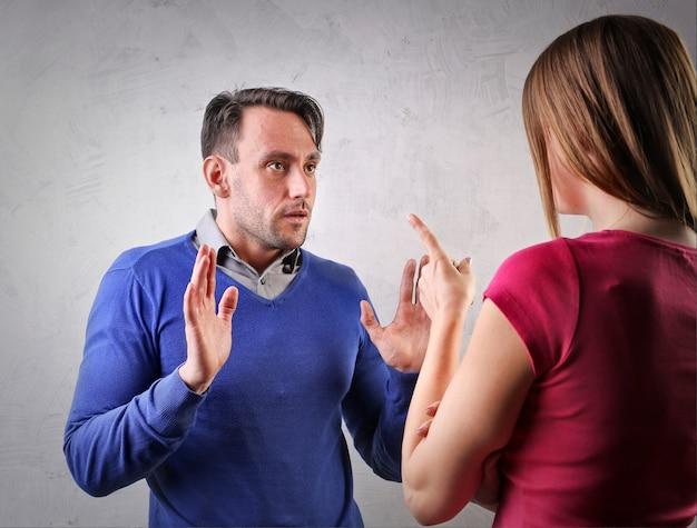 Problemas de pareja en una relación