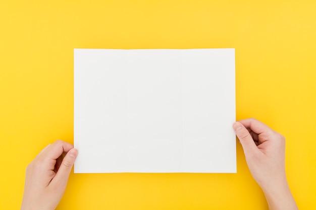 Proceso de creación de folletos
