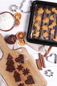 Proceso de elaboración de cookies.