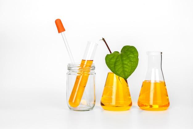 Producto de belleza botánica orgánica natural
