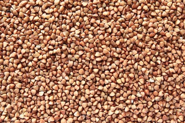 Producto suelto de trigo sarraceno a gachas y guarnición