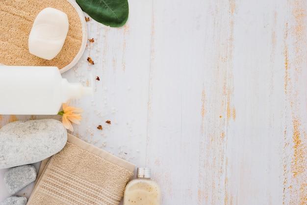 Productos para el cuidado de la piel para limpieza y curación