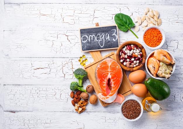 Productos de fuentes de ácidos omega-3.