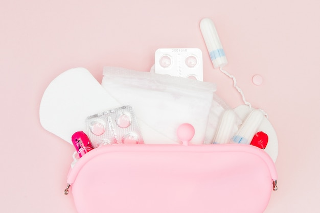 Productos de higiene íntima para mujeres