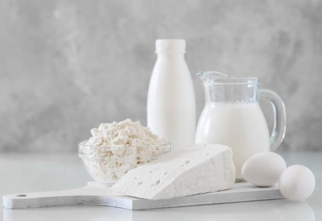 Productos lácteos caseros.