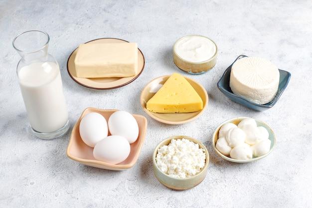 Productos lácteos frescos.