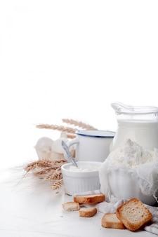Productos lácteos frescos