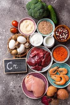 Productos naturales fuentes de cromo