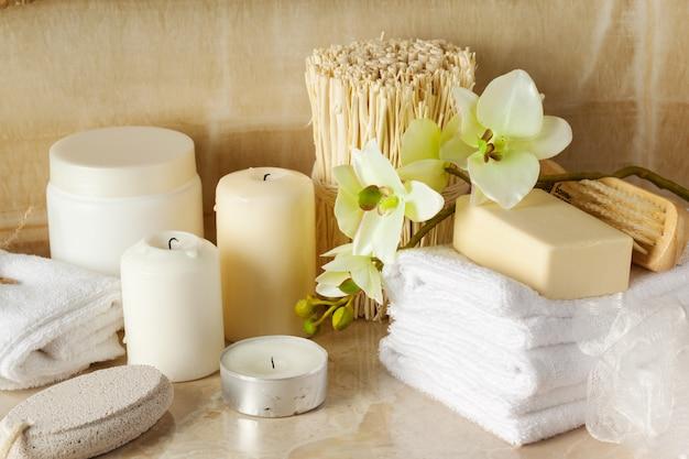 Productos de spa, concepto de spa