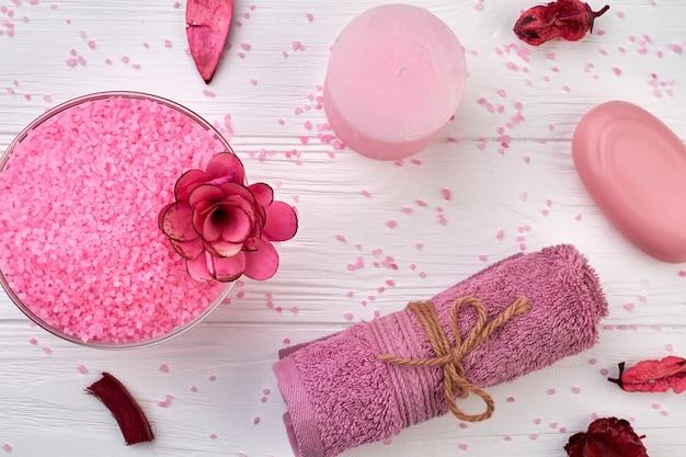 Productos de tratamiento de spa para baño productos cosméticos naturales