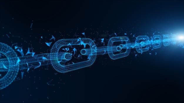 Profundidad de campo, conexiones de enlaces de cadena de red