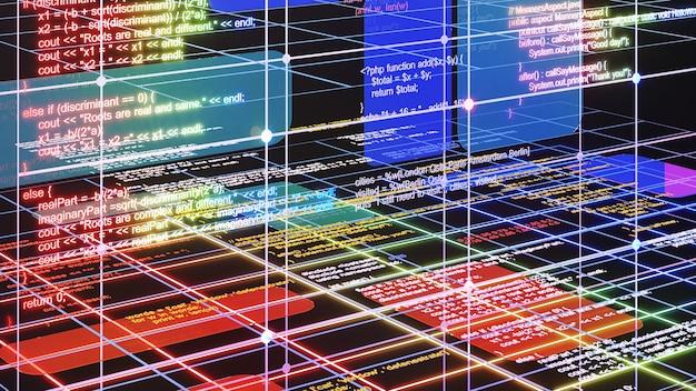 Programación para un sistema usando un lenguaje de programación.