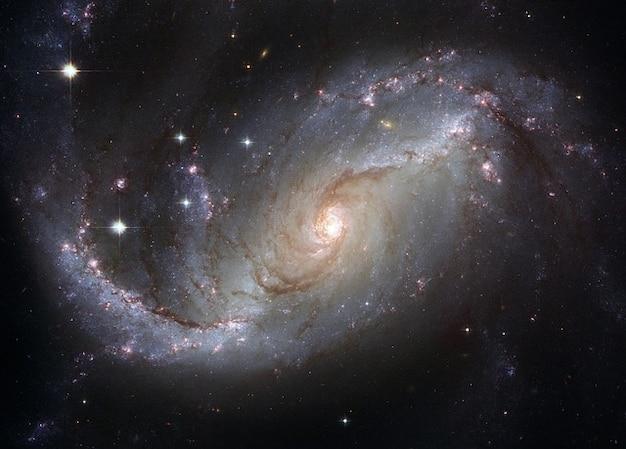 Prohibido galaxia espiral ngc