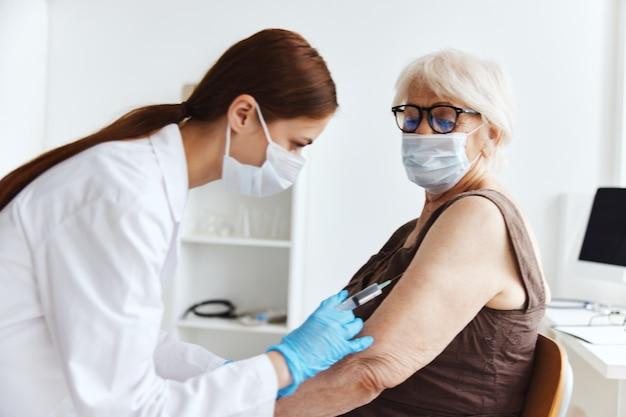 Protección de inmunidad del pasaporte de la vacuna del paciente