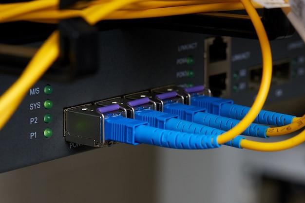 Proveedor de servicios de internet equipo de comunicaciones.