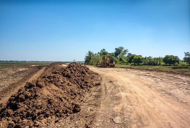 Proyecto de ajuste y recuperación de terrenos.