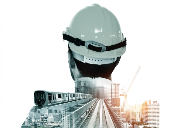 Proyecto de ingeniería de construcción de futuros edificios.