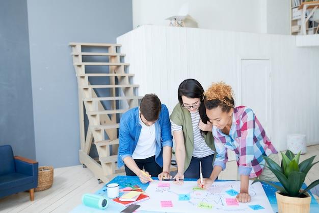 Proyecto de planificación de jóvenes en la oficina