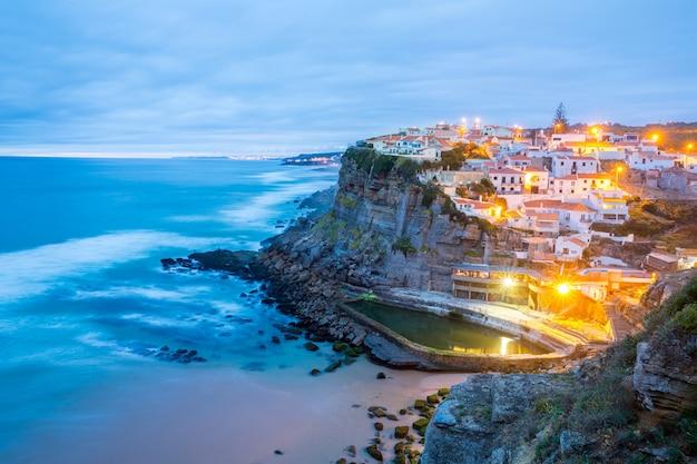Pueblo de azenhas do mar sintra portugal