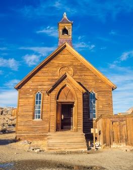 Pueblo fantasma de bodie parque del estado de california.