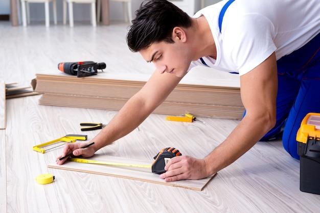 Puede colocar pisos laminados en casa