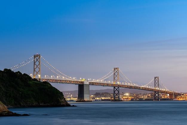 Puente de la bahía de san francisco