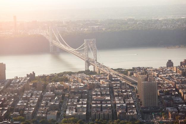 Puente george washington en nueva york