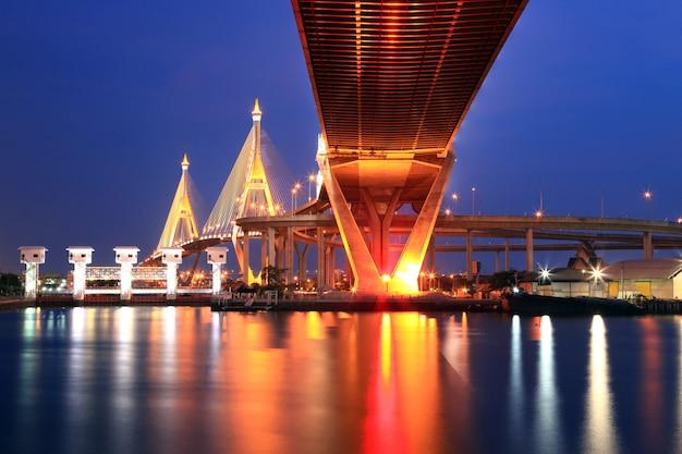 Puente industrial de bangkok