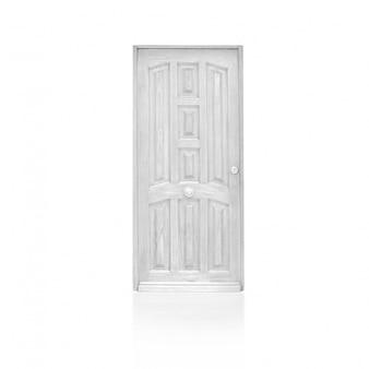 Puerta fantástica de madera