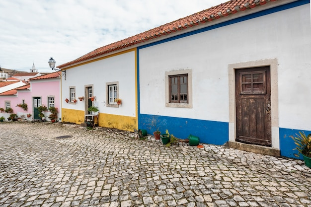Puerta de madera portugal