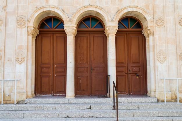 Las puertas de la catedral