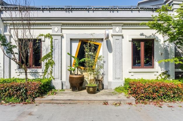 Puertas y ventanas de estilo europeo del bund de shanghai