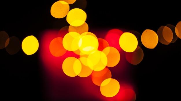 Puntos brillantes de luz