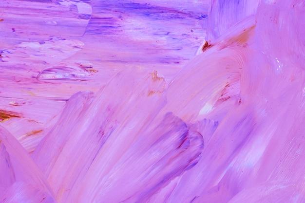 Púrpura pintura acrílica con textura de fondo
