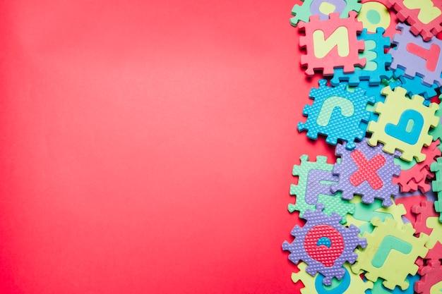 Puzzles compuestos en rosa