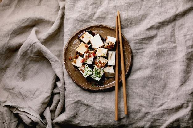Queso de seda tofu