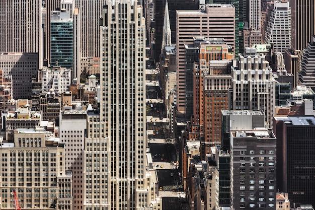 Quinta avenida en la ciudad de nueva york