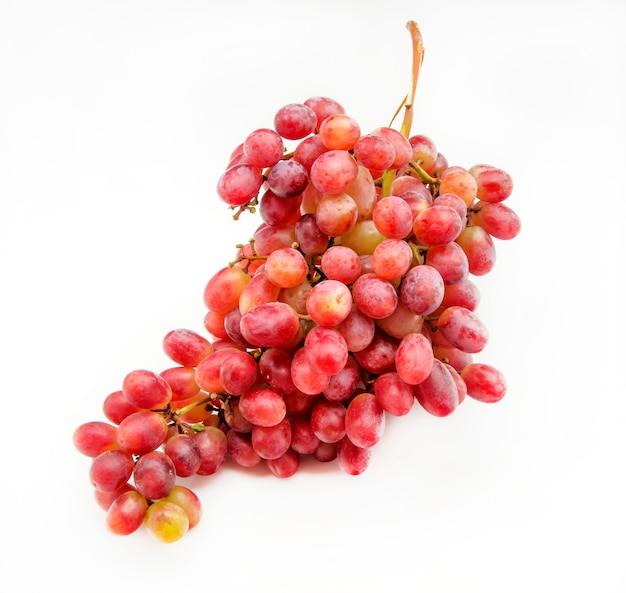 Racimo de uvas rojas